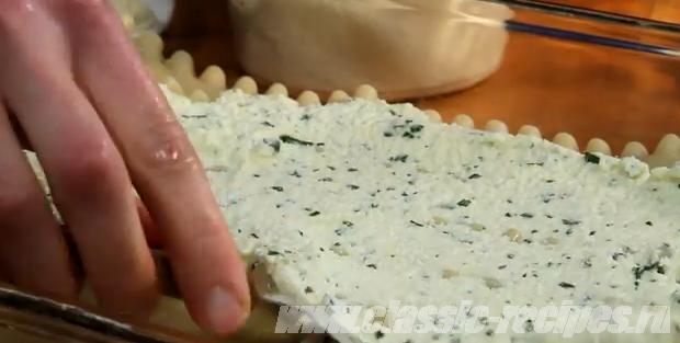 Следующий слой - сырный