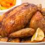 Картошка, запеченная с курицей в духовке