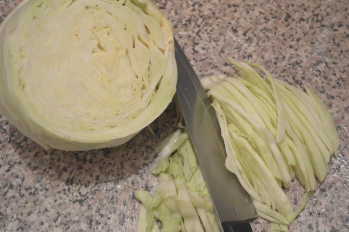 Рецепт борща классического -капуста для борща