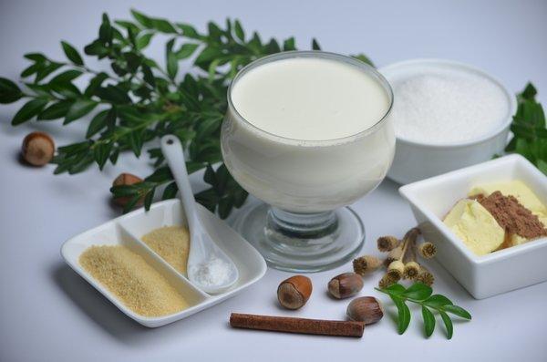 Ингредиенты для панакоты