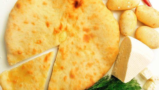 Осетинский пирог с сырной начинкой