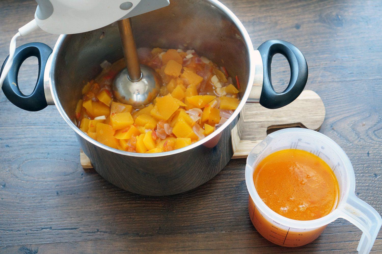 приготовить классический рецепт тыквенного супа