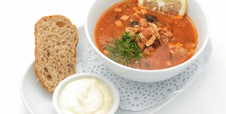 рецепт русский суп солянка