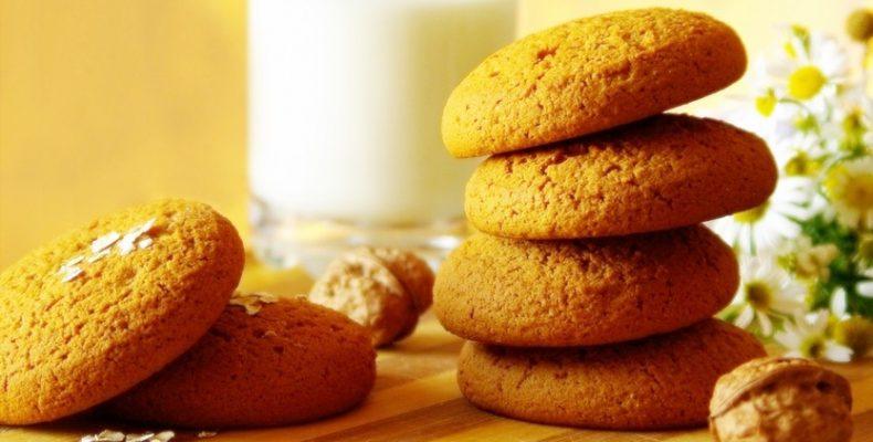 рецептура и производство овсяного печенья